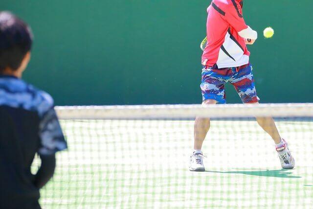 テニスの試合に関する用語