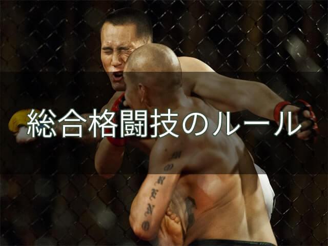 総合格闘技のルール