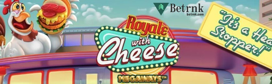 Royale with Cheese MegaWaysロゴ